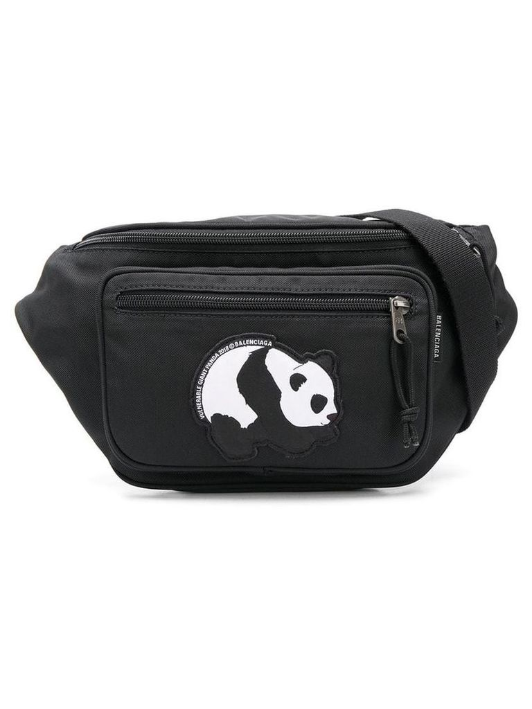 Balenciaga Explorer panda belt bag - Black