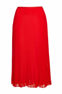 Polo Ralph Lauren Pleated Midi Skirt