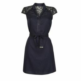 One Step  TINA  women's Dress in Blue