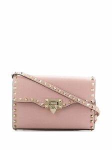 Valentino Valentino Garavani Rockstud cross-body bag - Pink