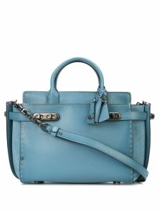 Coach Double Swagger tote - Blue