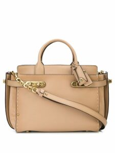 Coach Double Swagger tote - Neutrals
