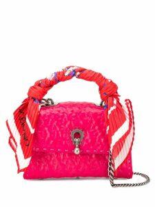 Ermanno Scervino scarf handle mini bag - Pink