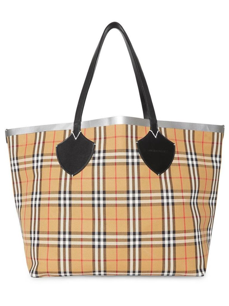 Burberry The Giant Reversible Tote - Neutrals