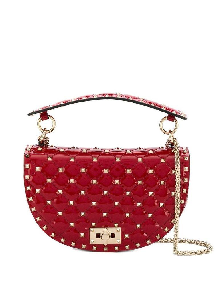 Valentino Valentino Garavani Rockstud Spike saddle bag - Red