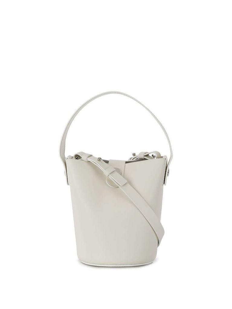 Sophie Hulme Nano Swing bucket bag - White