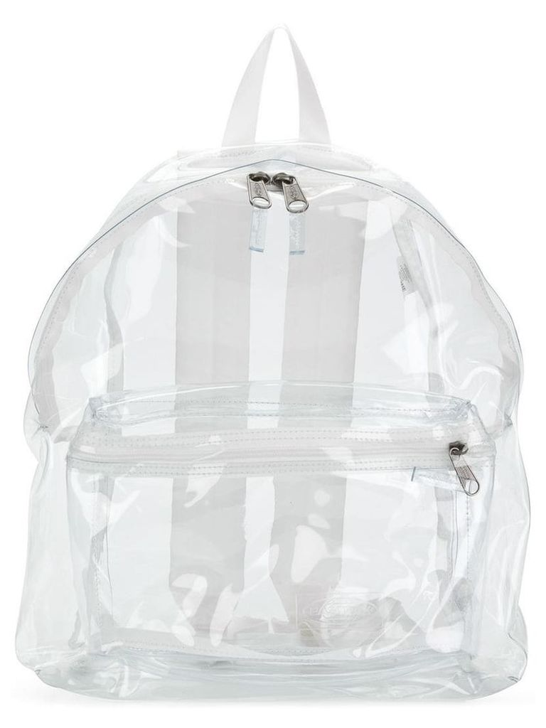 Eastpak loose compartment backpack - White