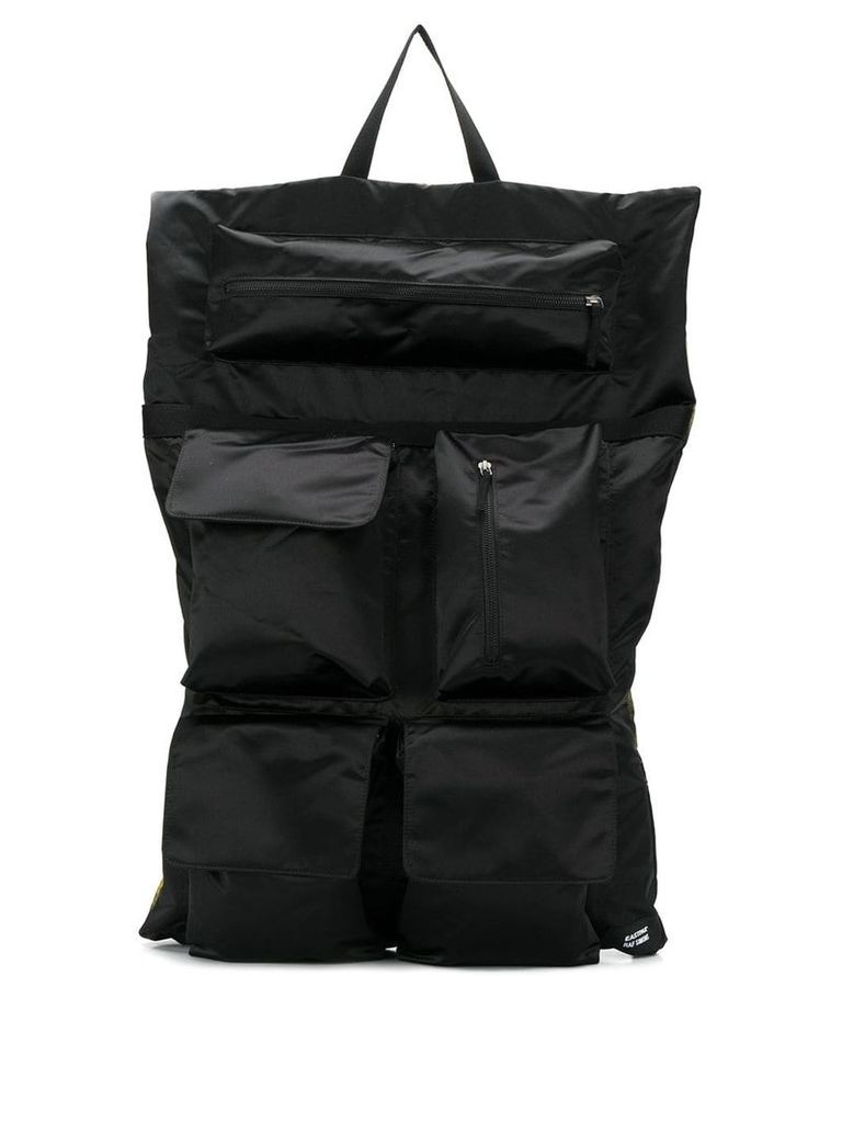 Eastpak Eastpak x Raf Simons punk print backpack - Black