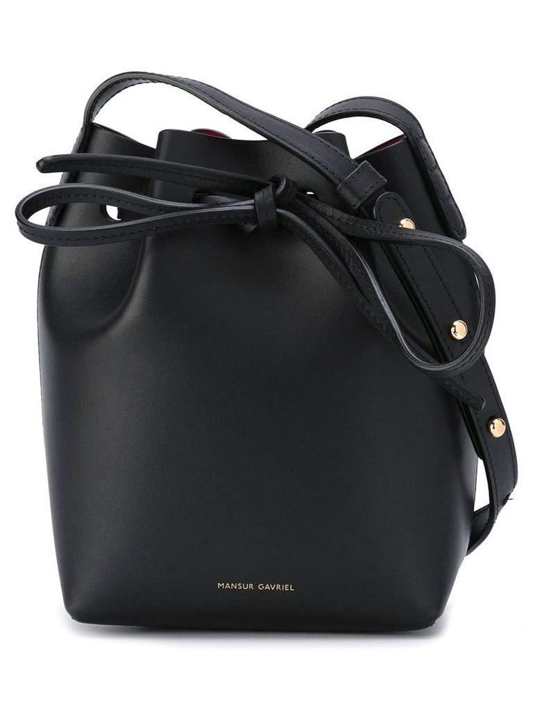 Mansur Gavriel Mini Mini Bucket bag - Black