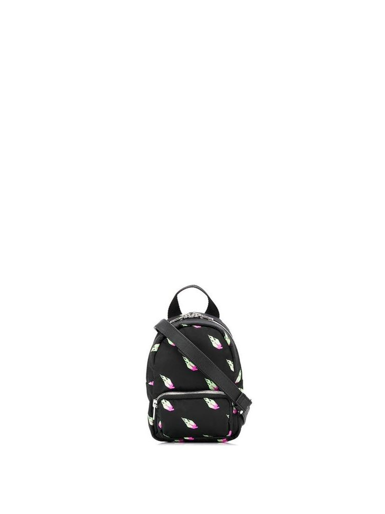 McQ Alexander McQueen cross body mini backpack - Black