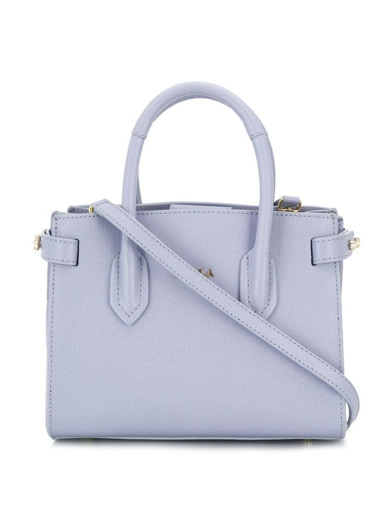 Furla Pin small tote bag - Blue