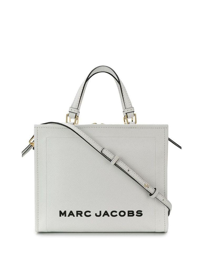 Marc Jacobs The Box shopper bag - White
