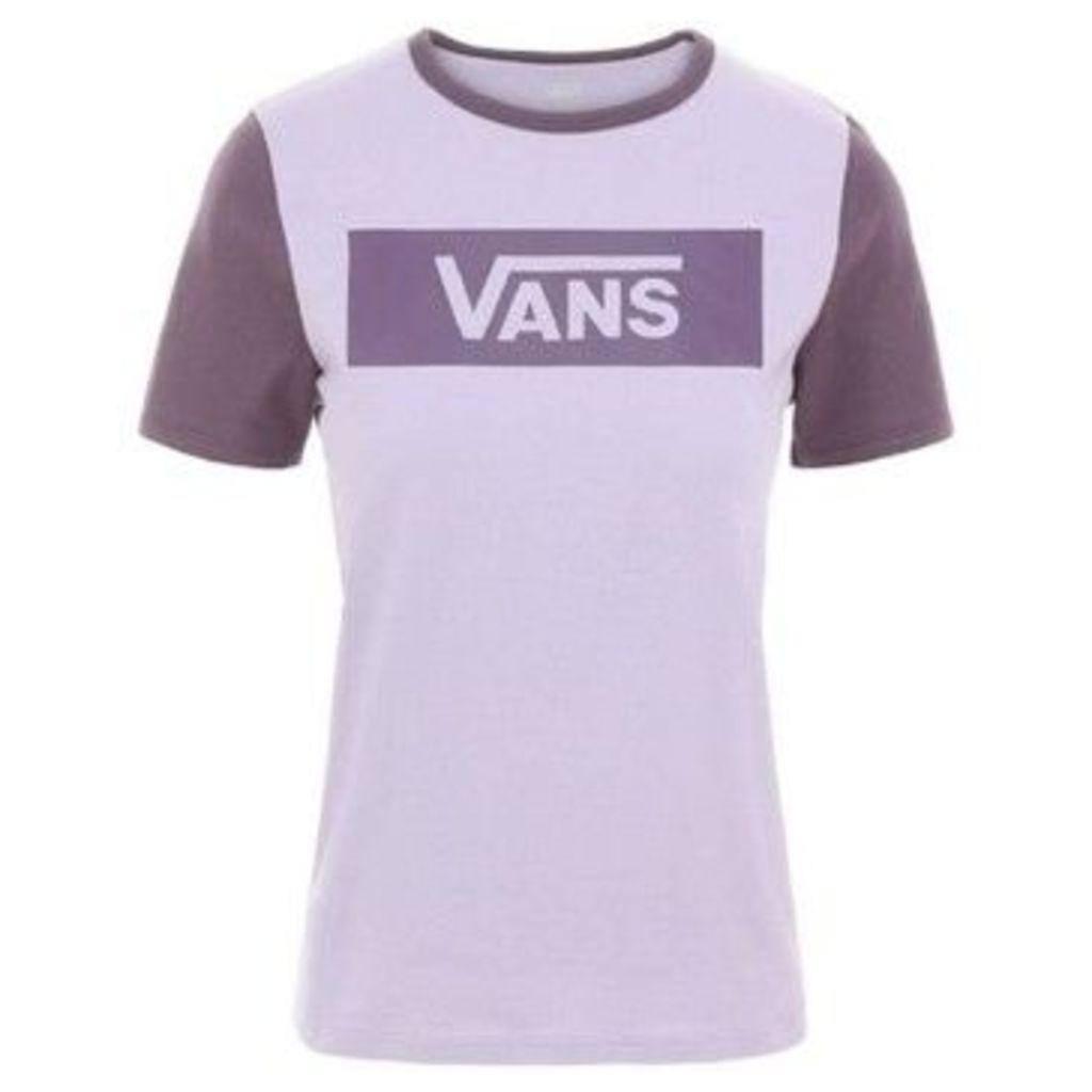 Vans  RINGER V TANGLE RANGE  women's T shirt in Other