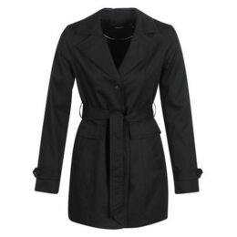 Vero Moda  VMEVA ABBY  women's Trench Coat in Black