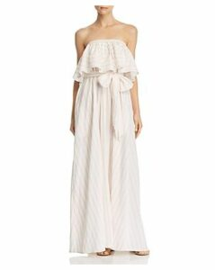 Lemlem Aweke Strapless Popover Maxi Dress