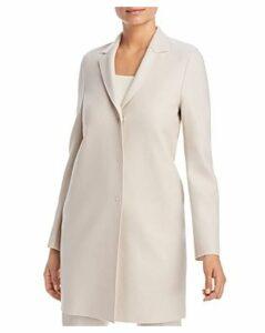 Harris Wharf Lightweight Wool Cocoon Coat