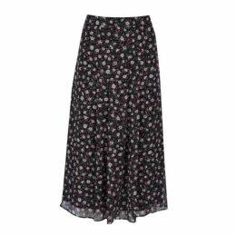 Ditsy Daisy Midi Skirt