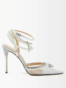 No. 21 - Pleated Silk Chiffon Midi Dress - Womens - Pink
