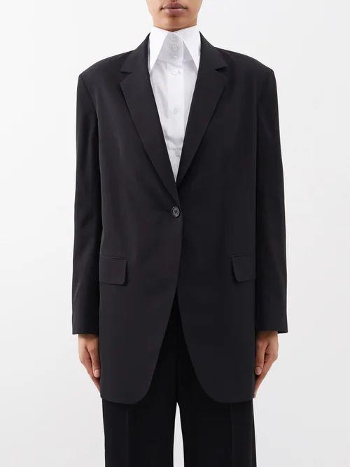 Altuzarra - Oriana Floral Print Silk Dress - Womens - Pink Multi