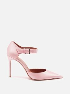 Molly Goddard - Susie Ruffle Trimmed Cotton Poplin Midi Dress - Womens - Brown