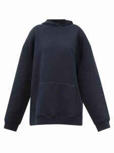 Mame Kurogouchi - High Rise Geometric Fil Coupé Pleated Midi Skirt - Womens - Navy Multi