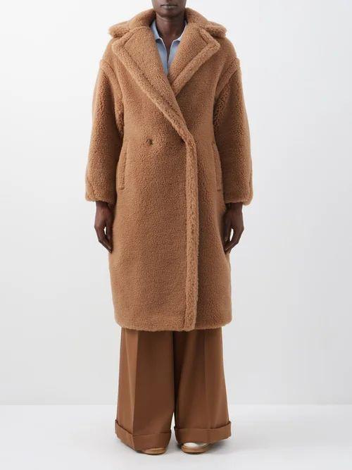 Max Mara - Teddy Coat - Womens - Camel