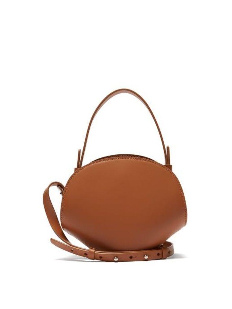 Nico Giani - Amelia Mini Leather Top Handle Bag - Womens - Tan