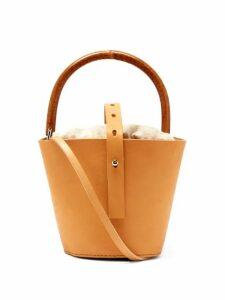 Muuñ - Louise Bucket Bag - Womens - Cream Multi