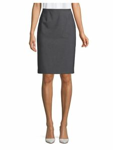 Classic Textured Skirt