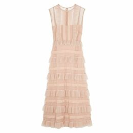 RED Valentino Blush Point D'esprit Dress
