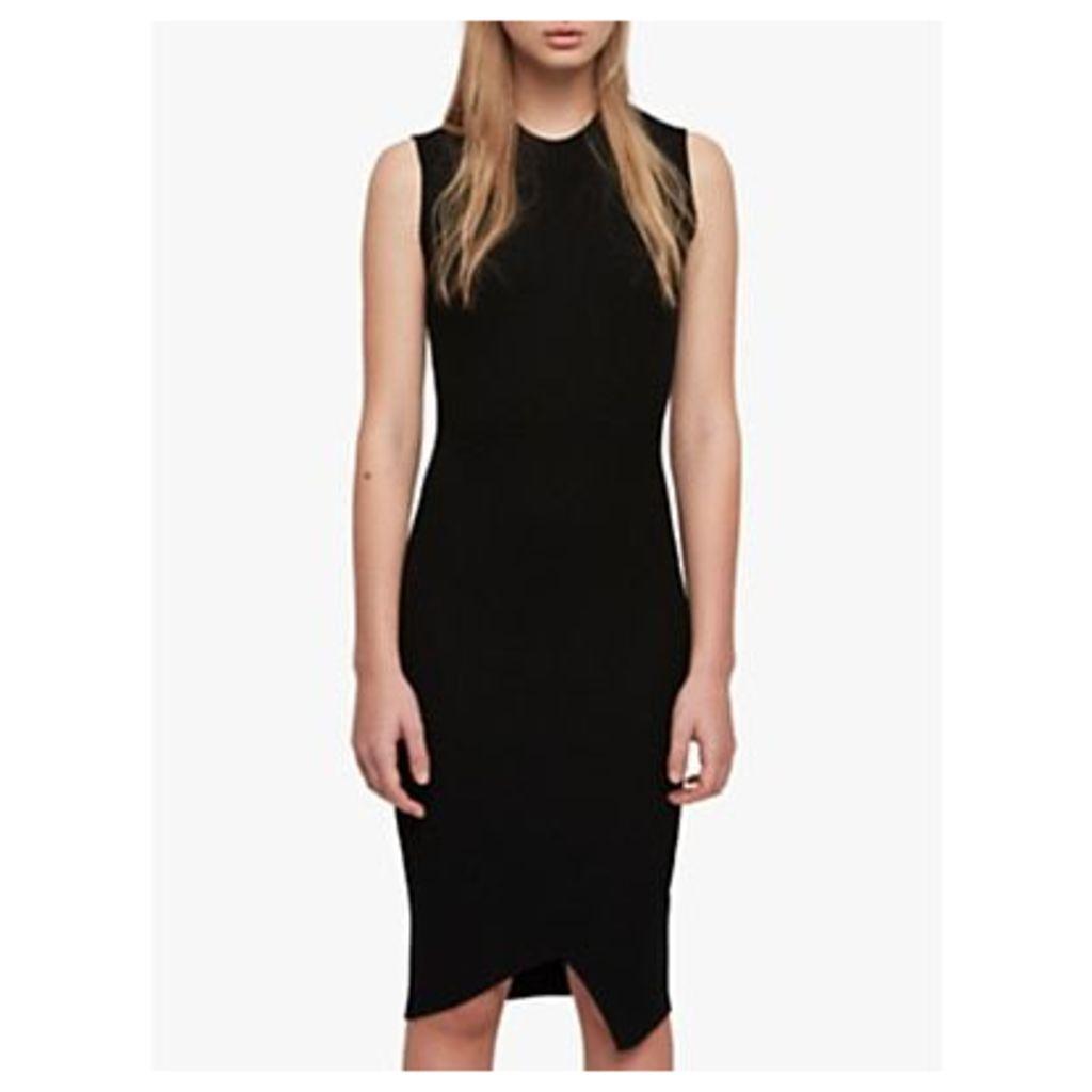AllSaints Amara Sleeveless Dress, Black