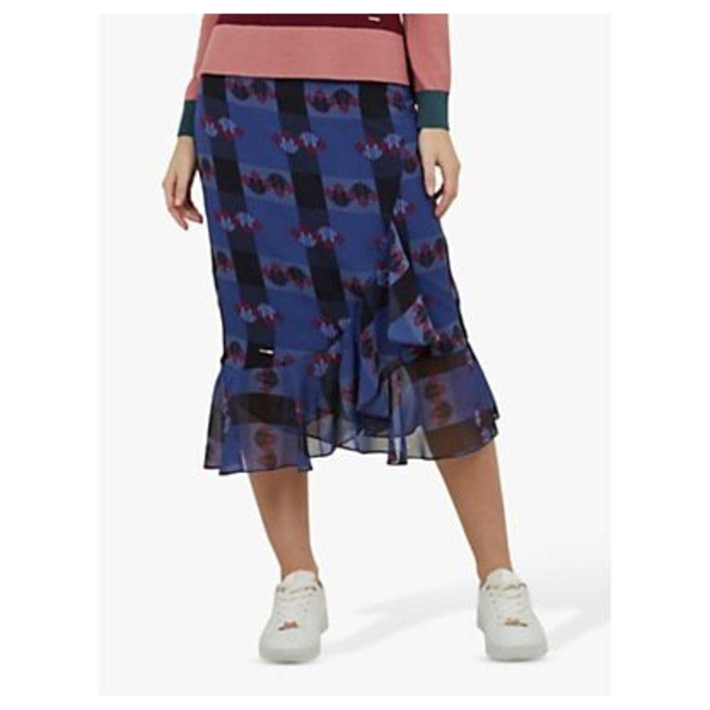 Ted Baker Kortez Skirt, Blue/Multi