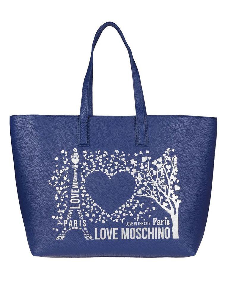 Love Moschino Printed Tote