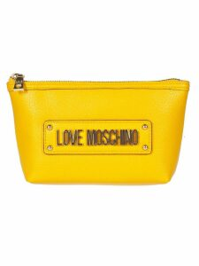 Love Moschino Logo Clutch