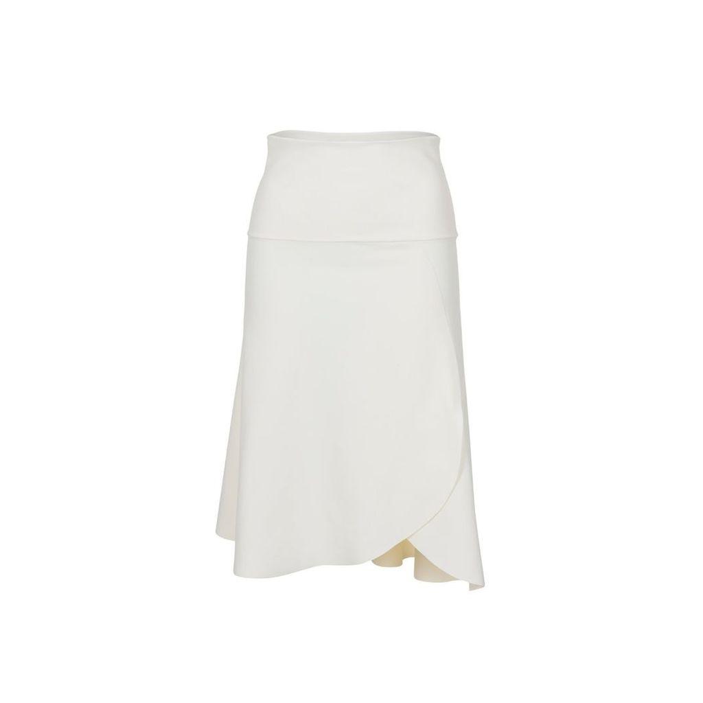 SDress - Ileana Asymmetrical Ivory Skirt