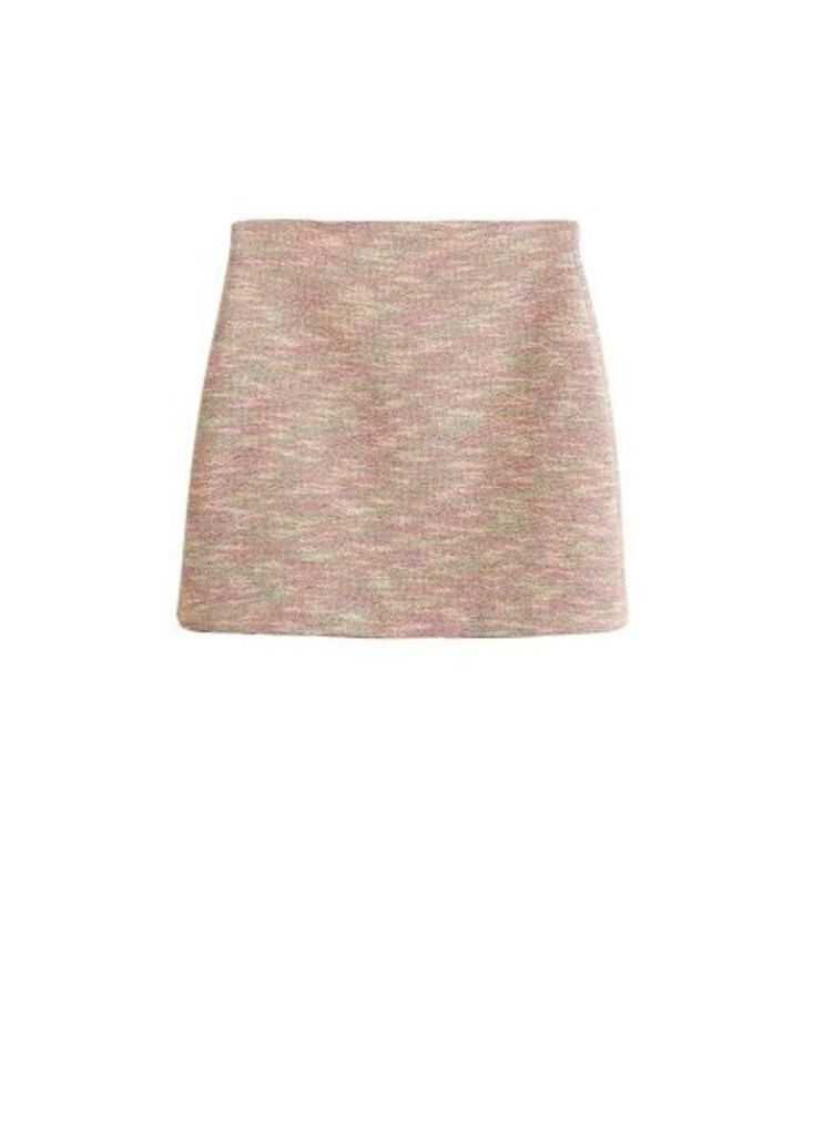 Flecked miniskirt