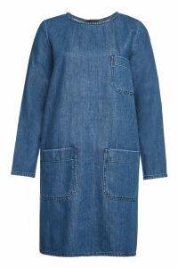 Closed Neil Patch Pocket Denim Dress