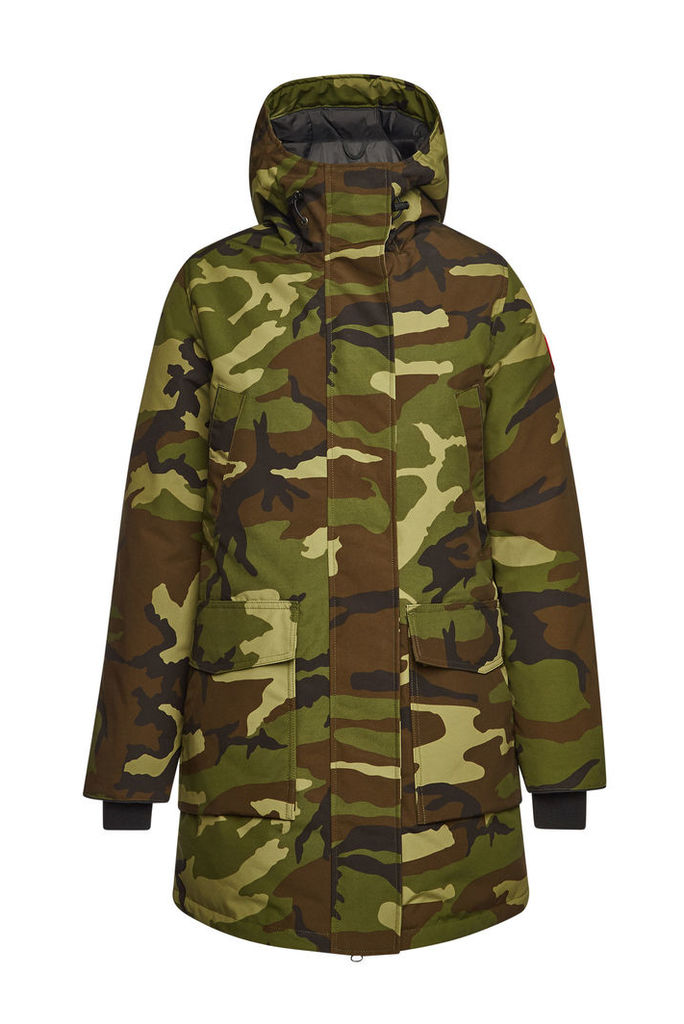 Canada Goose Canmore Camouflage Down Parka with Cotton