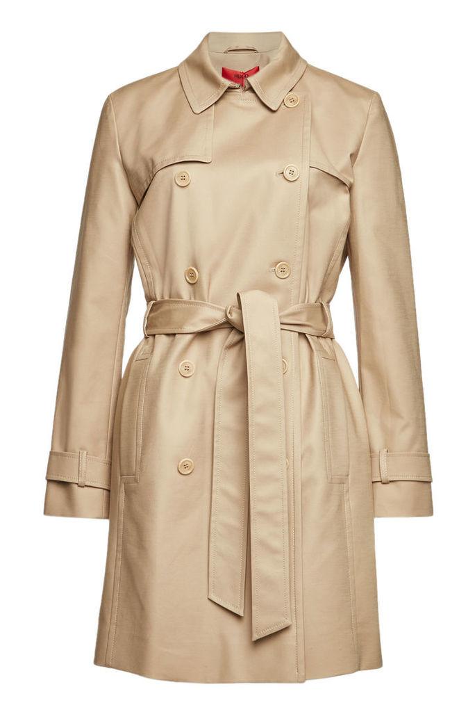 Hugo Makaras Cotton Trench Coat