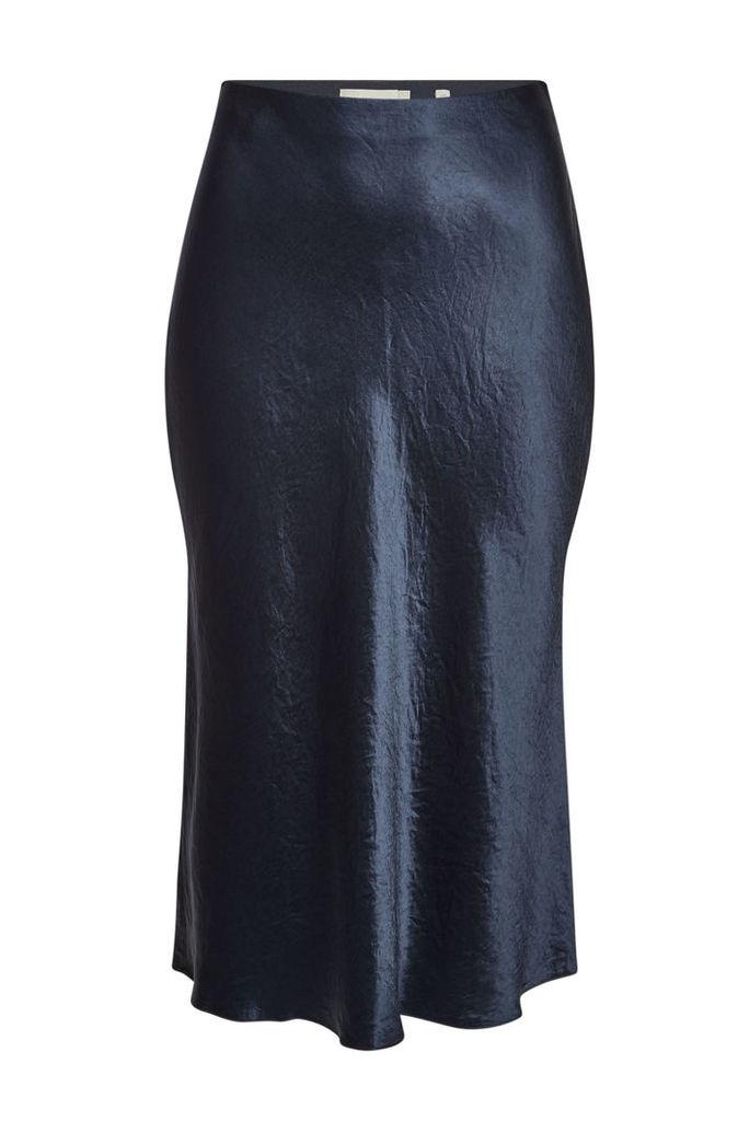 Vince Satin Slip Skirt
