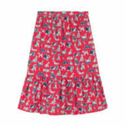 Squiggle Dogs Tiered Skirt