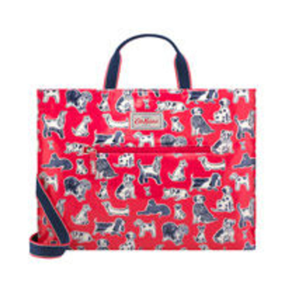 Squiggle Dogs Strappy Carryall Bag