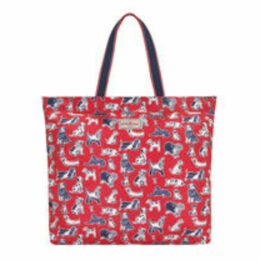 Squiggle Dogs Large Foldaway Tote Bag
