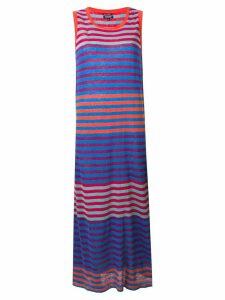 Woolrich striped tank dress - Blue