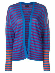 Woolrich striped cardigan - Blue