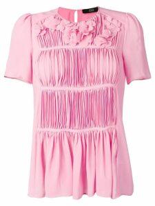 Steffen Schraut pleated blouse - Pink