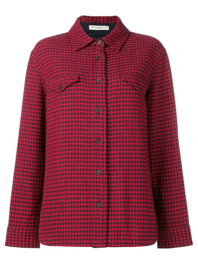 Holland & Holland checked shirt - Red