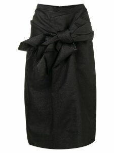 Comme Des Garçons bow detail skirt - Black
