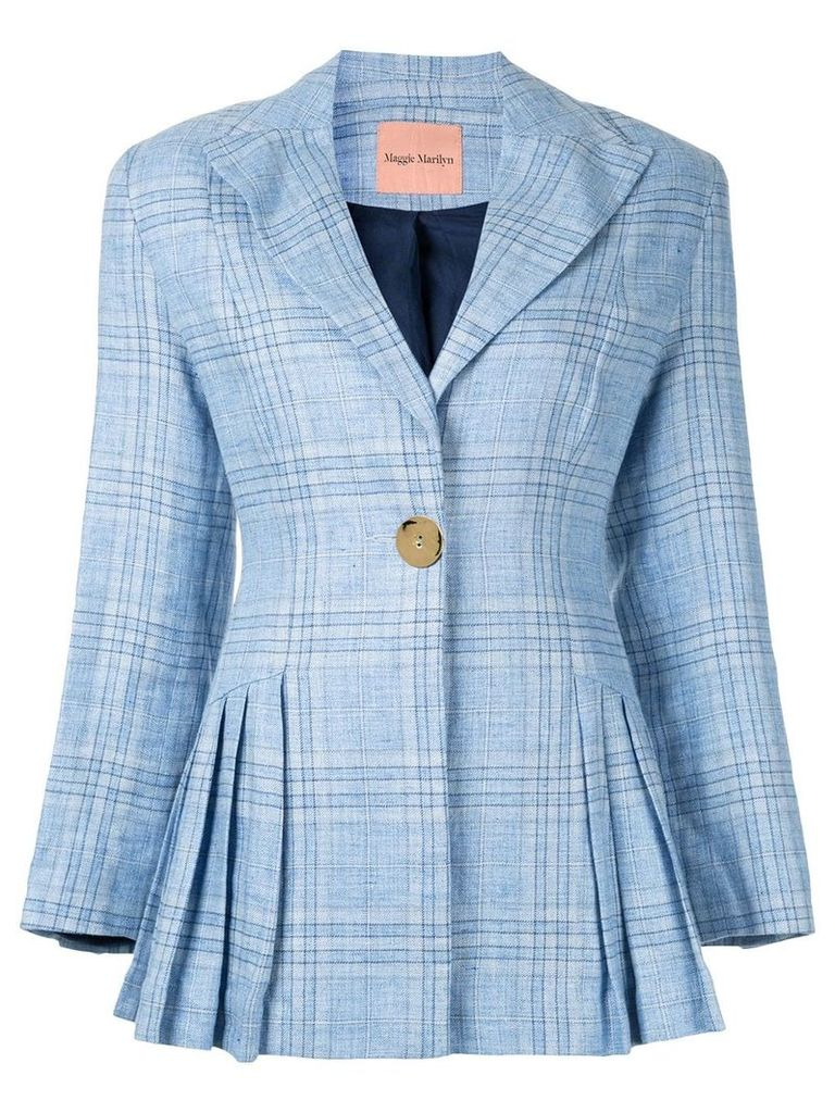 Maggie Marilyn Suit Yourself blazer - Blue