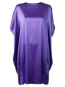 Gianluca Capannolo oversized fit dress - Purple